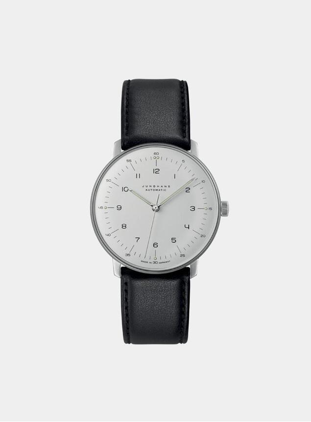 Black / White Max Bill Automatic 027/3500.04 Watch