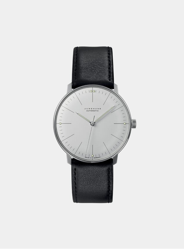 Black / White Max Bill Automatic 027/3501.04 Watch