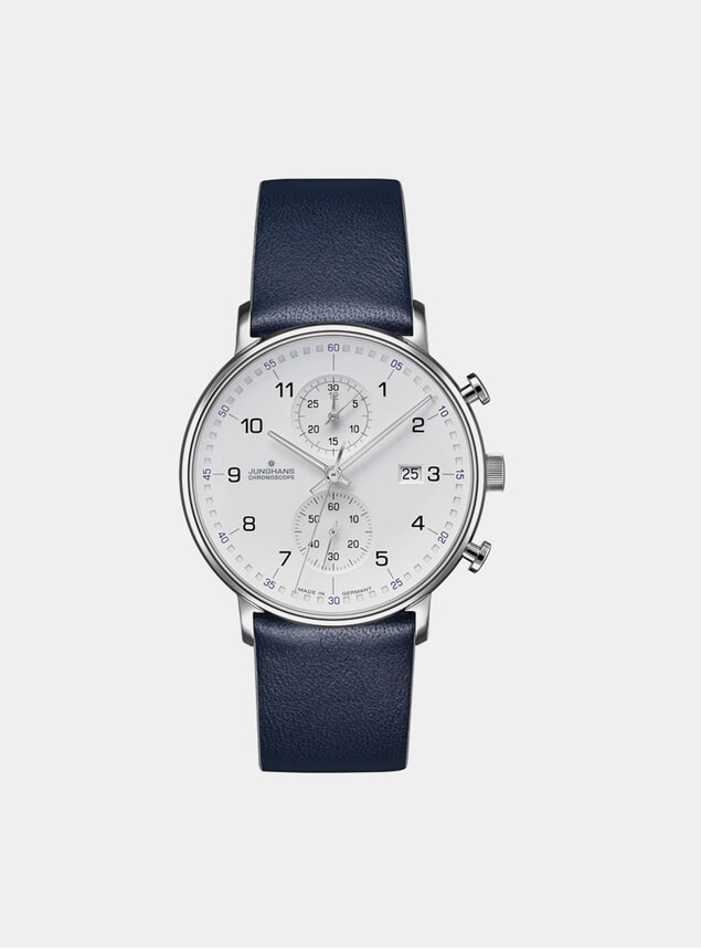 Blue / White Form C Chronoscope 041/4775.00 Watch
