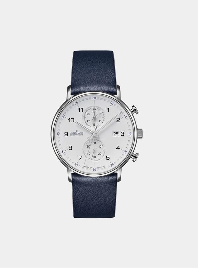 Blue / White Form C Chronoscope 041/4775.00 Watch