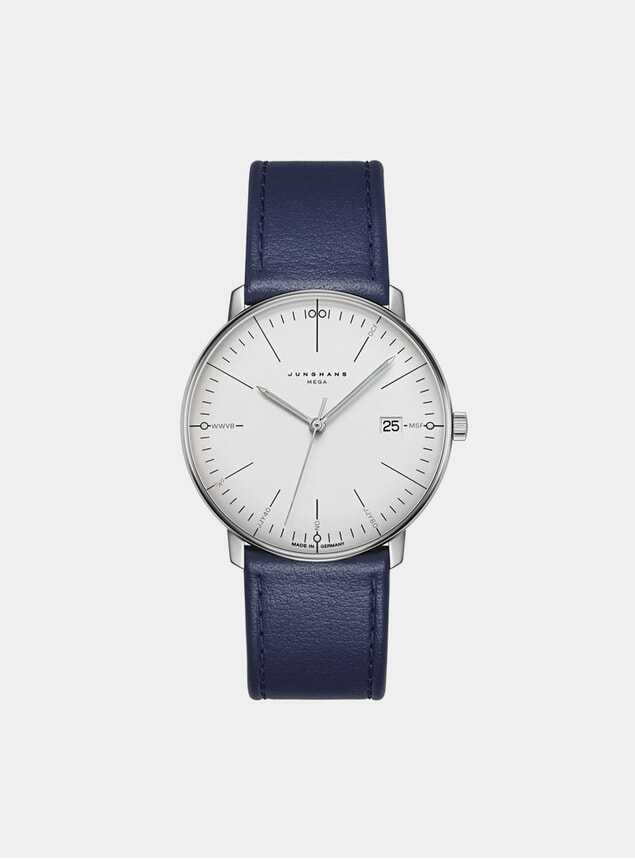 Blue / White Max Bill Mega 058/4822.00 Watch