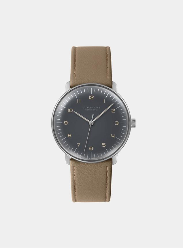 Tan / Grey Max Bill Automatic 027/3401.00 Watch