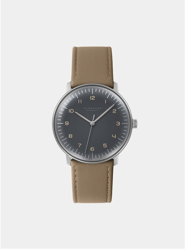 Tan / Grey Max Bill Automatic 027/3401.00 Watch