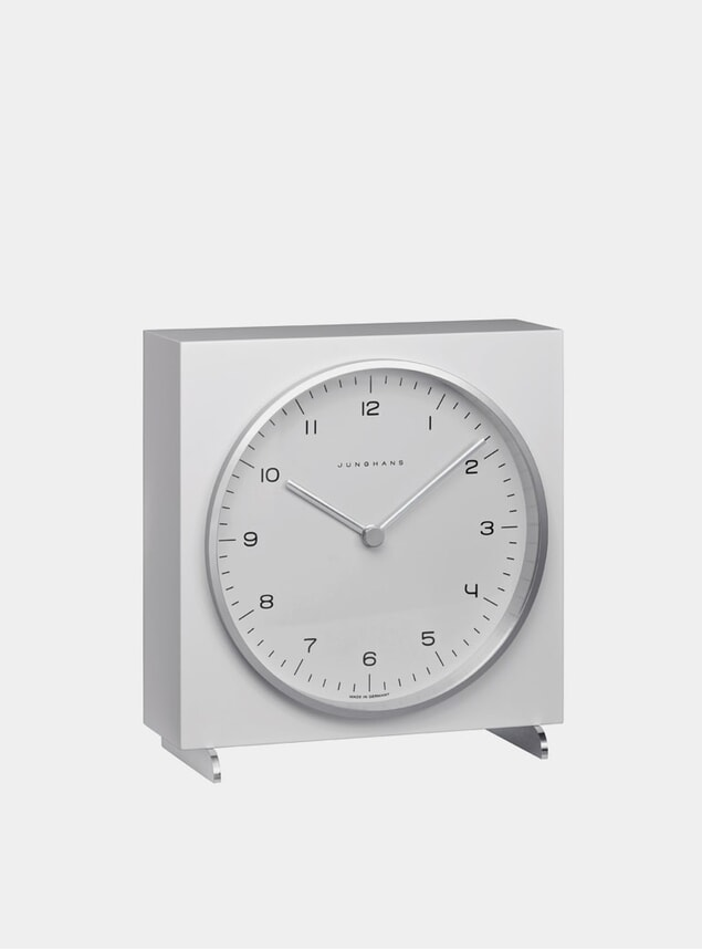 White 2200 Quartz Table Clock