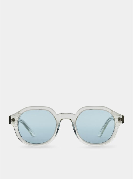Clear / Blue Palermo Sunglasses