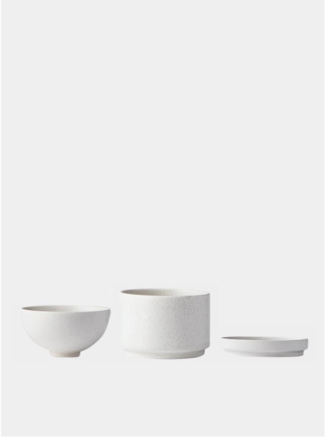 Small Fine Stoneware Setomono Bowl Set