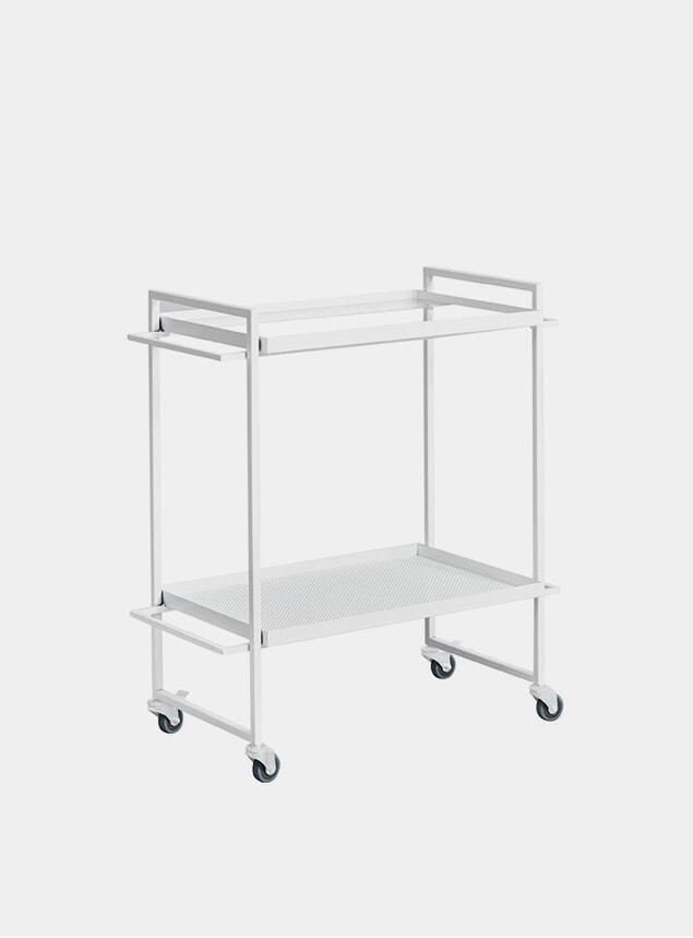 White Bauhaus Bar Trolley