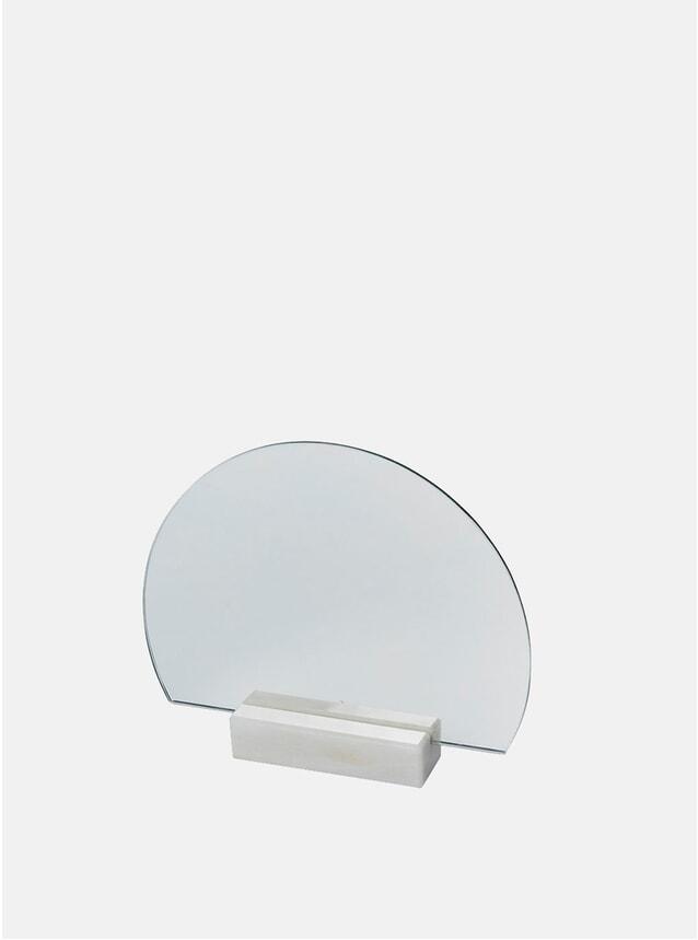 Normal Marble Half-Moon Mirror