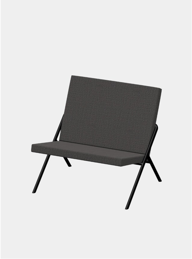 Charcoal DL2 Euclides Lounge Chair