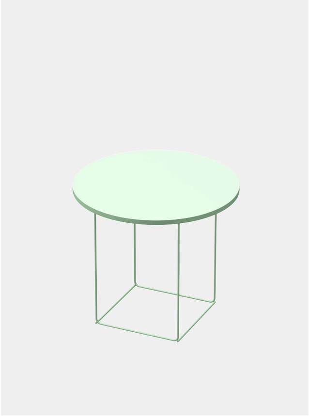 Mint Green DL3 Umbra Round Side Table