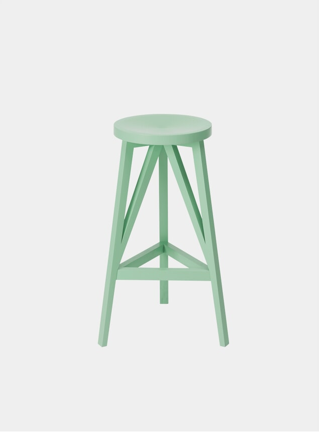 Mint Green JL4 Faber Bar Stool