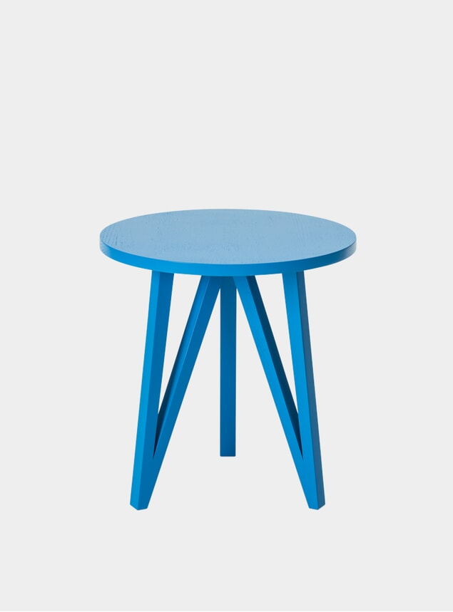 Sky Blue Pure Red JL2 Faber Side Table