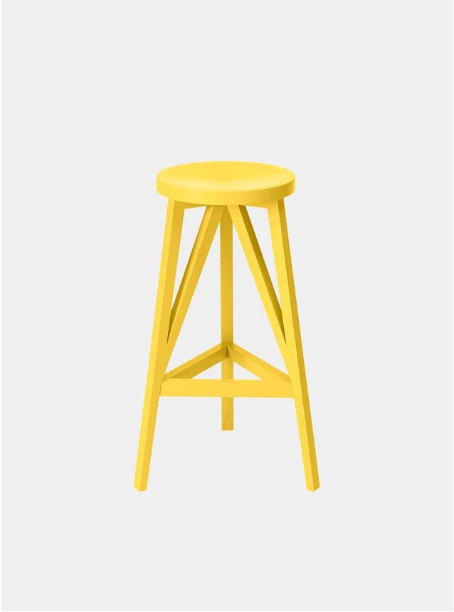 Zinc Yellow JL4 Faber Bar Stool