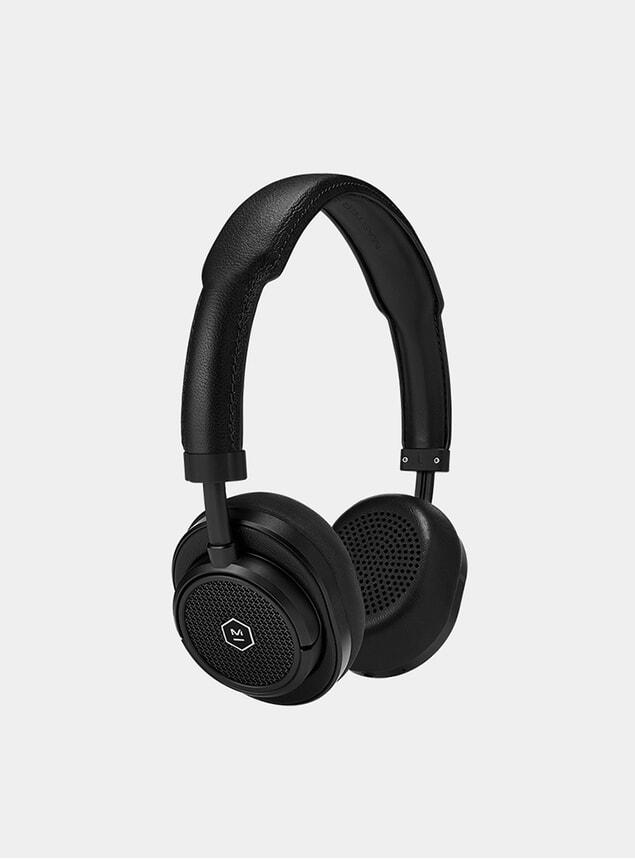 Black Metal / Black Leather MW50+ Headphones