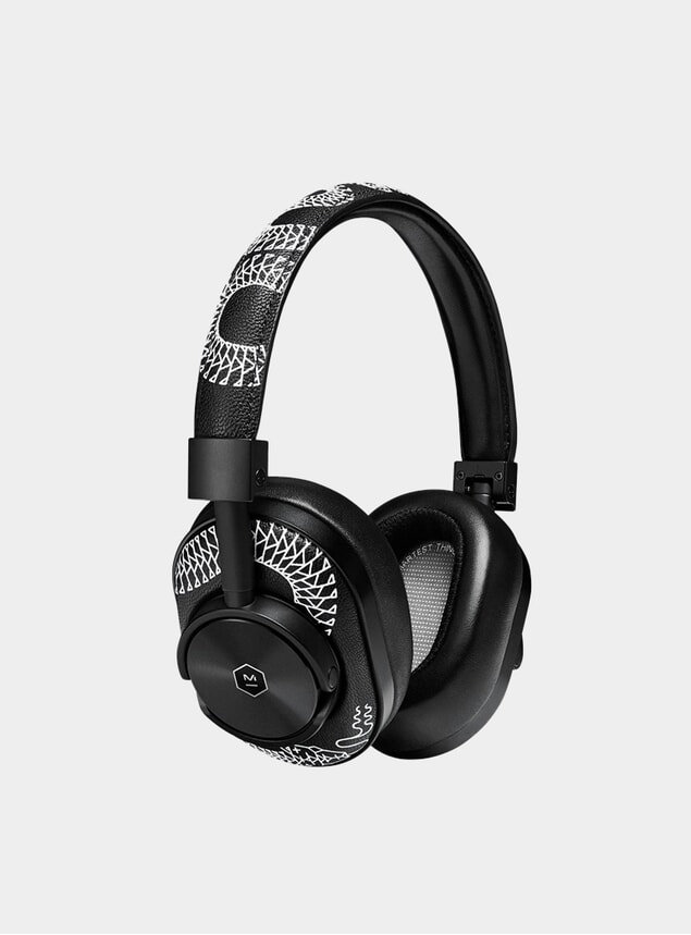 Black Scott Campbell Limited Edition MW60 Headphones