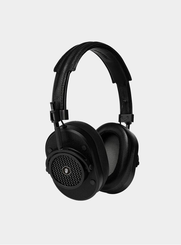 Black The Rolling Stones MH40 Headphones