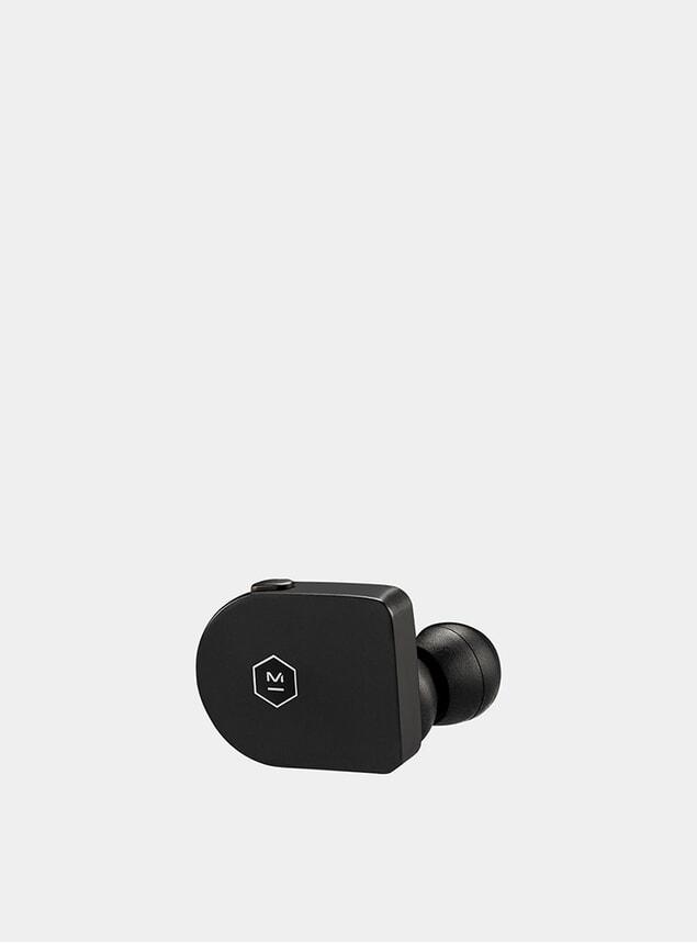 Matte Black Acetate Wireless MW07 Earphones