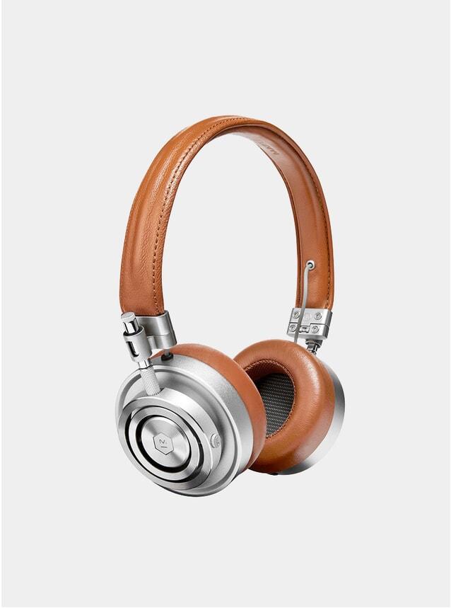 Silver / Brown MH30 Headphones
