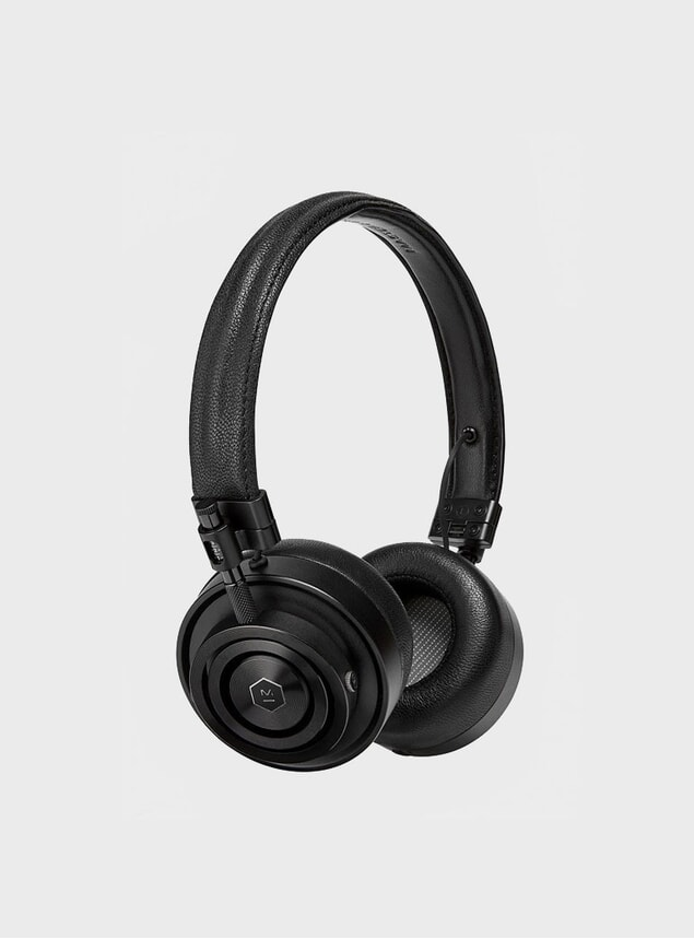 All Black MH30 Headphones