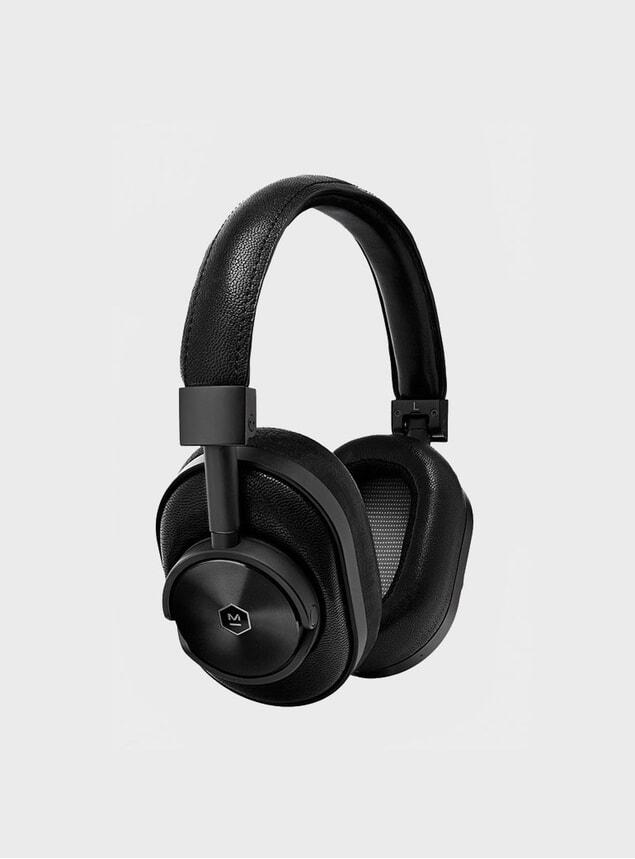 All Black MW60 Wireless Headphones