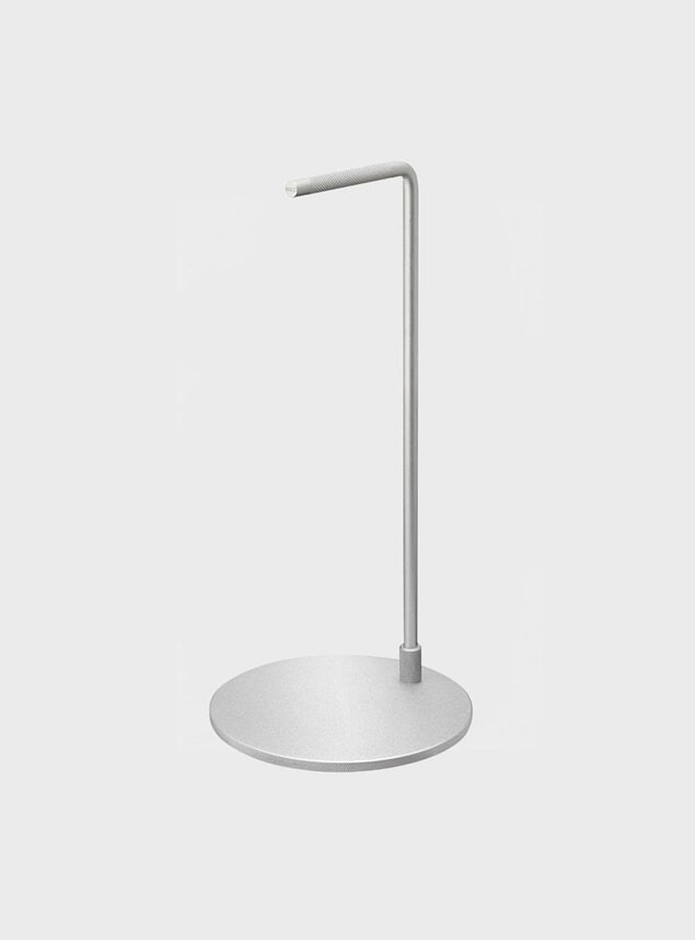 Silver Steel Stand
