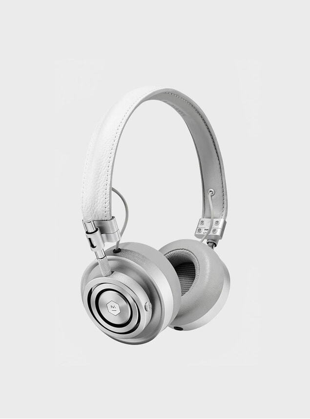 Silver / White MH30 Headphones