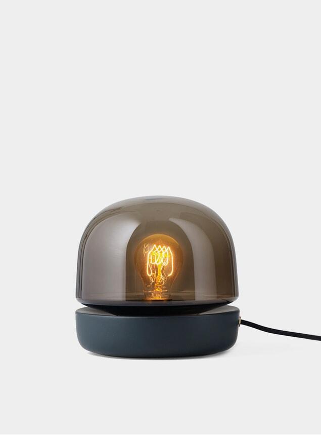 Anthracite Stone Lamp