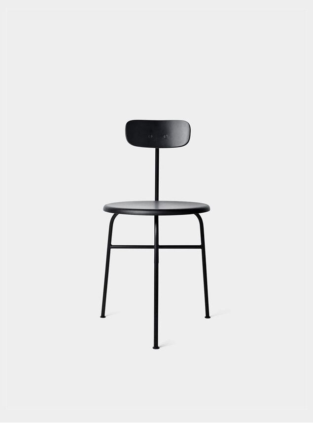 Black Afteroom Dining Chair 3
