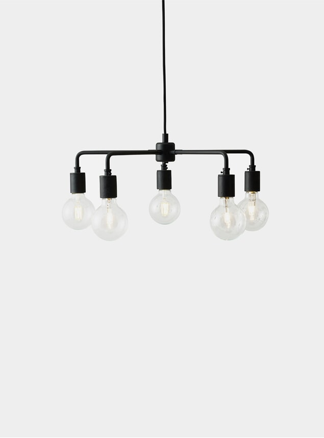 Black Leonard Chandelier Tribeca