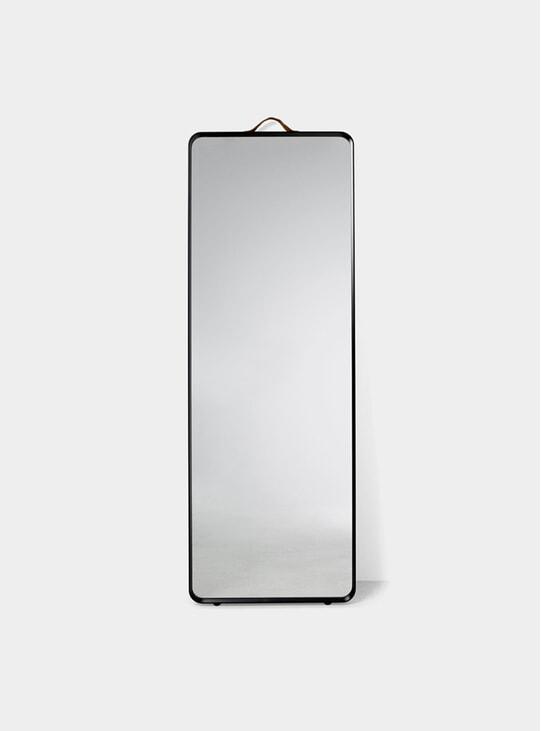 Black Norm Floor Mirror