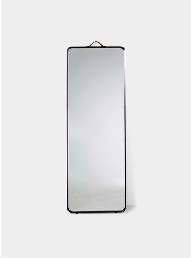 Black Norm Floor Mirror