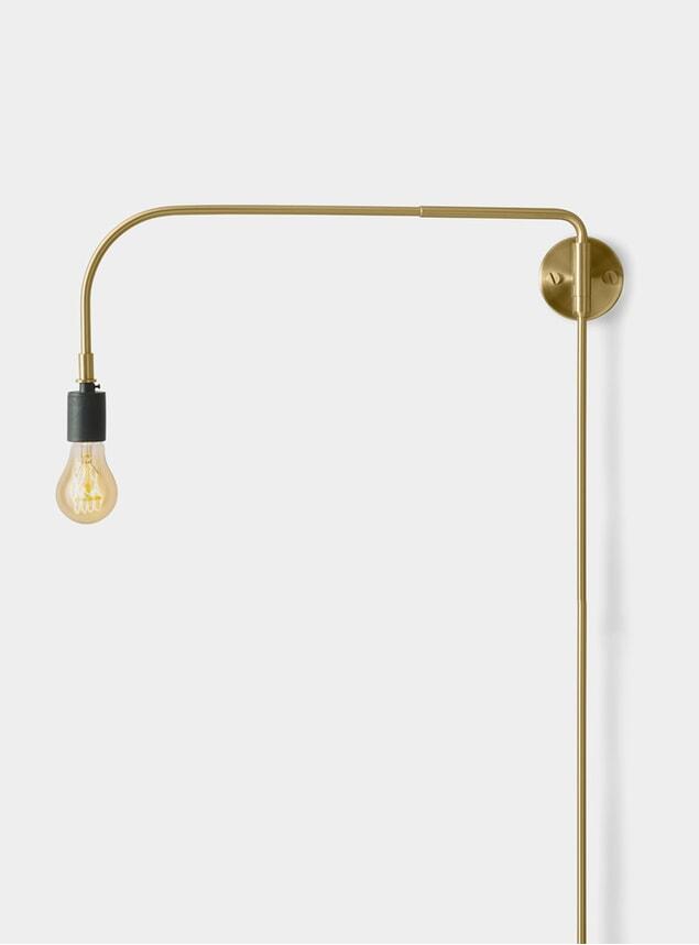 Brass Warren Wall Lamp