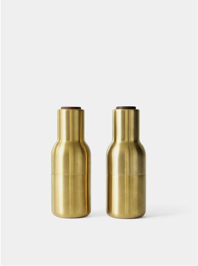 Brushed Brass Bottle Grinder