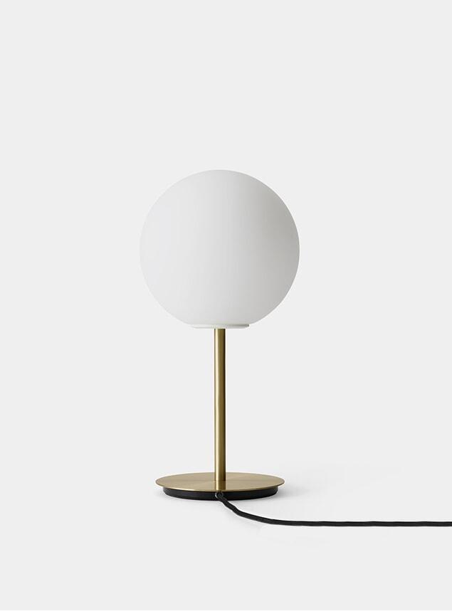 Brushed Brass / Matt Opal TR Table Lamp