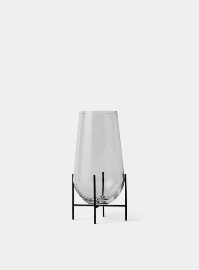Clear Échasse Vase