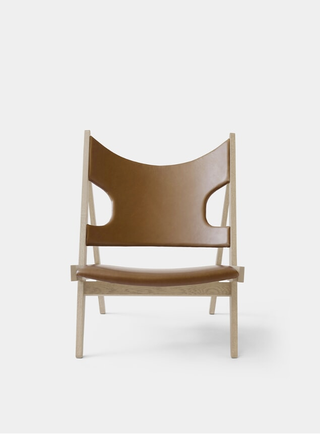 Dakar / Natural Oak Knitting Lounge Chair