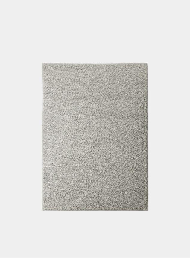 Grey Small Gravel Rug