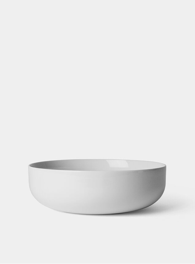 Smoke Ø21.5cm New Norm Bowl Set of 4