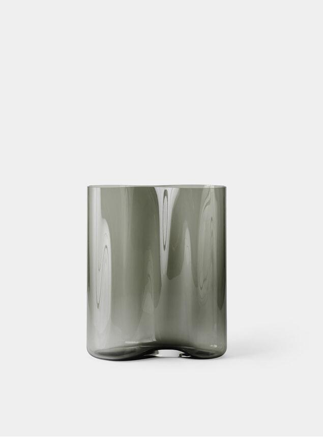 Smoke 33cm Aer Vase
