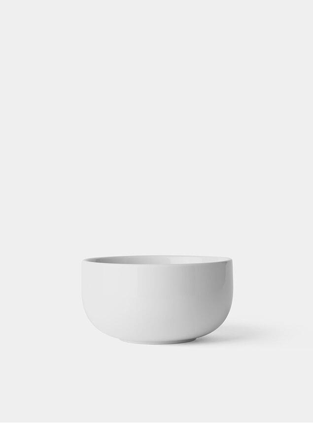White Ø10cm New Norm Bowl Set of 4