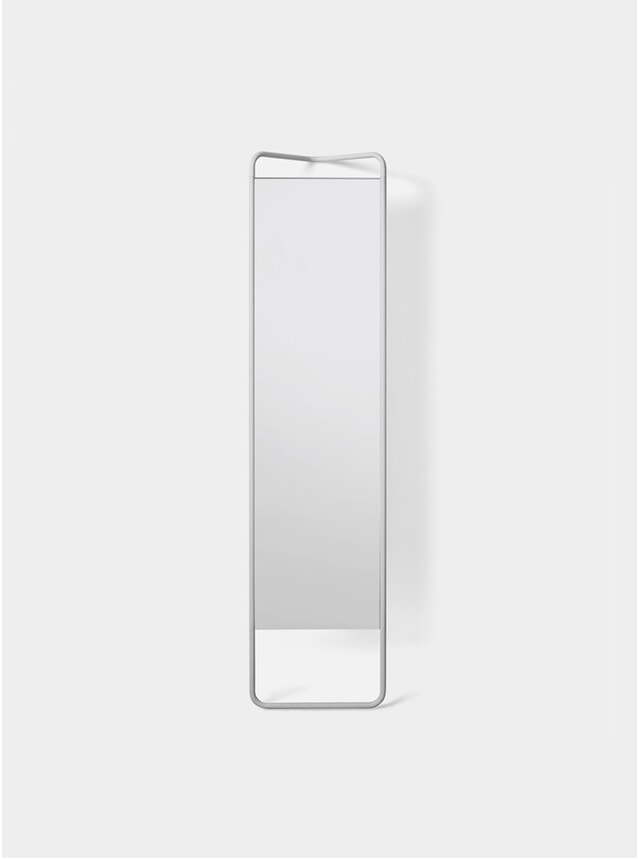 White Kaschkasch Floor Mirror