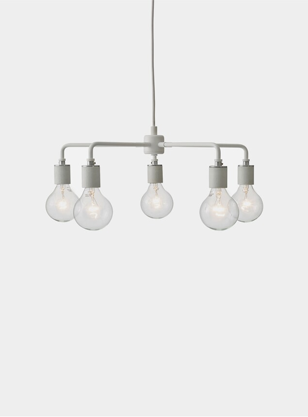 White Leonard Chandelier Tribeca
