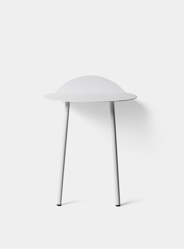 White Low Yeh Wall Table