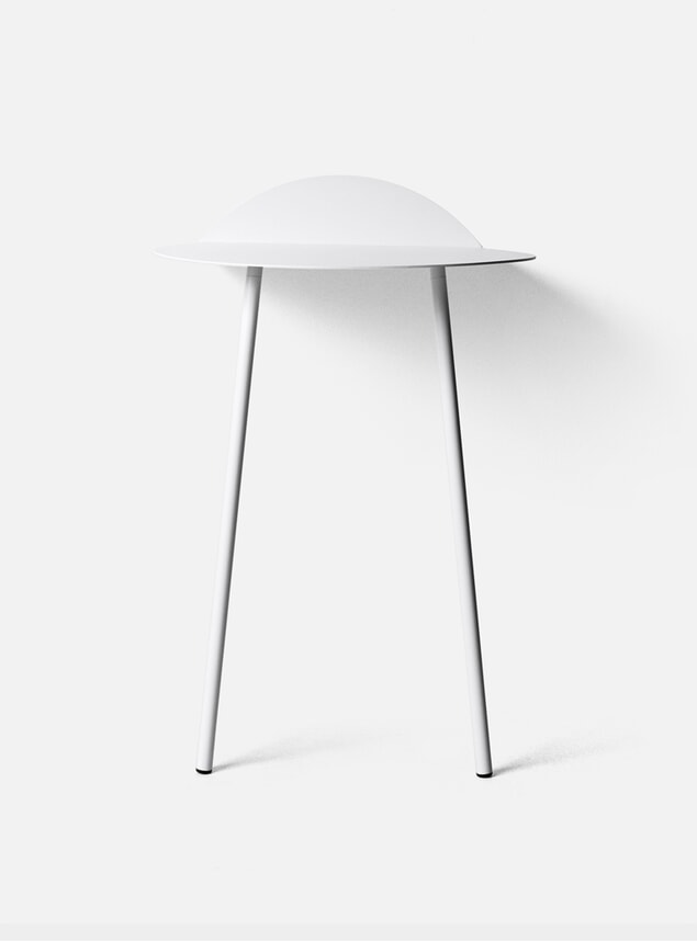 PRE ORDER White Tall Yeh Wall Table