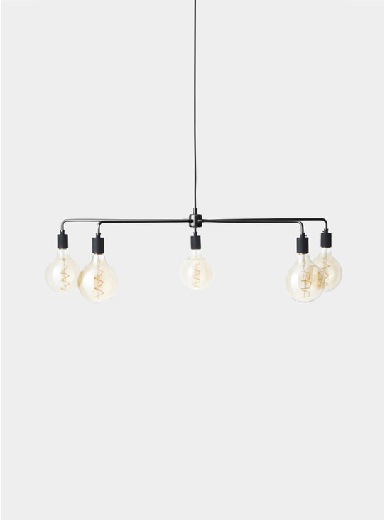 Black Chambers Tribeca Chandelier
