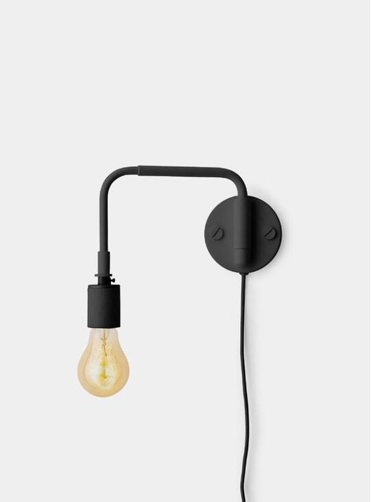 Black Staple Lamp Tribeca