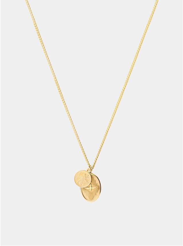 14k Gold Mini Dove Pendant Necklace
