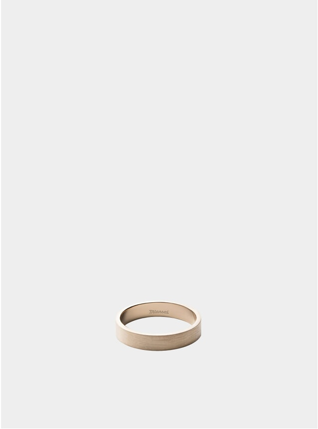 4MM 14k Gold Band Ring