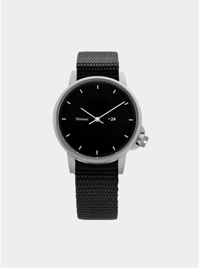 Black Nylon M24 Watch
