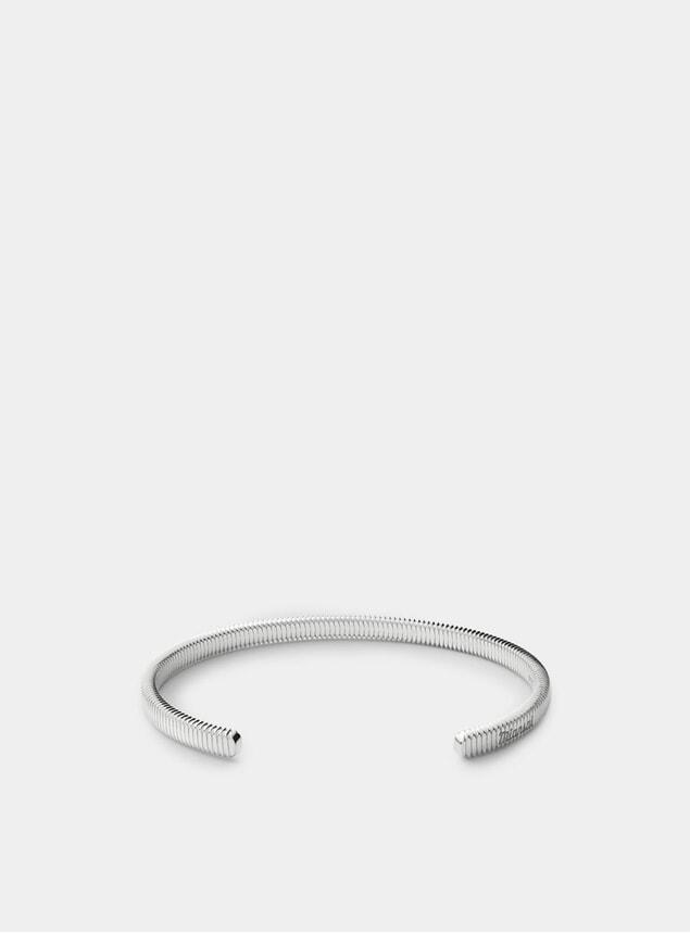 Sterling Silver Thread Cuff